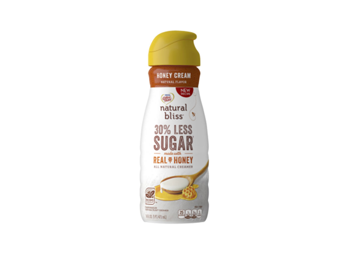 natural bliss real honey coffee creamer