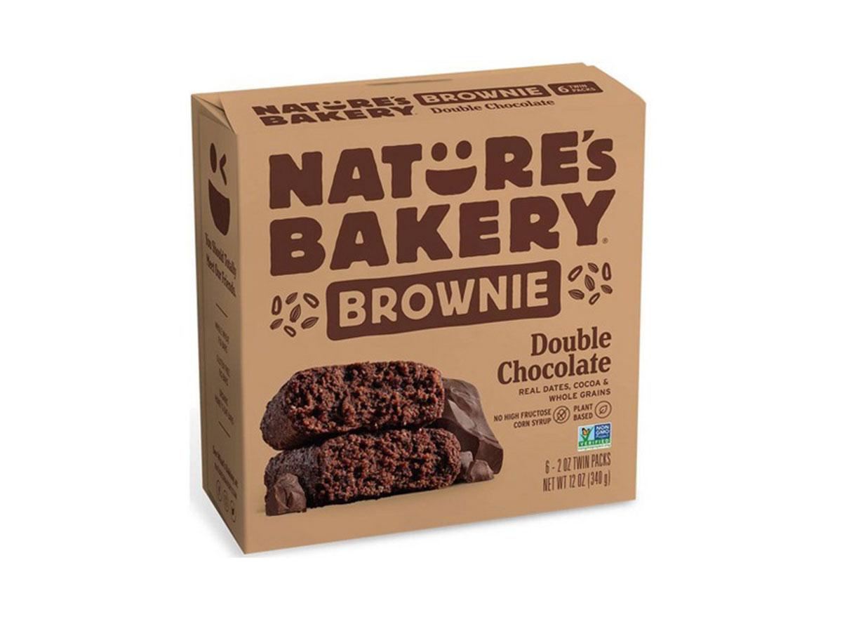 natures bakery brownie