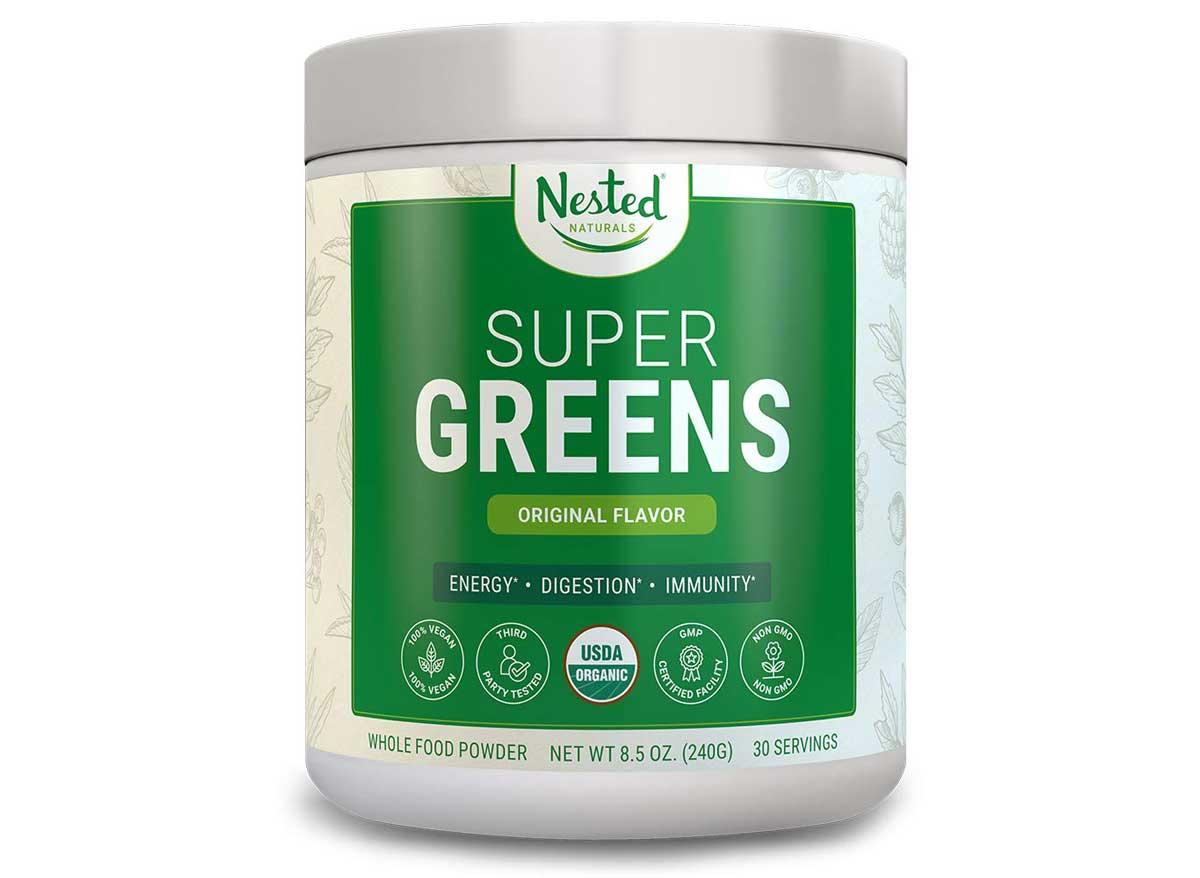 Nested super greens original flavor