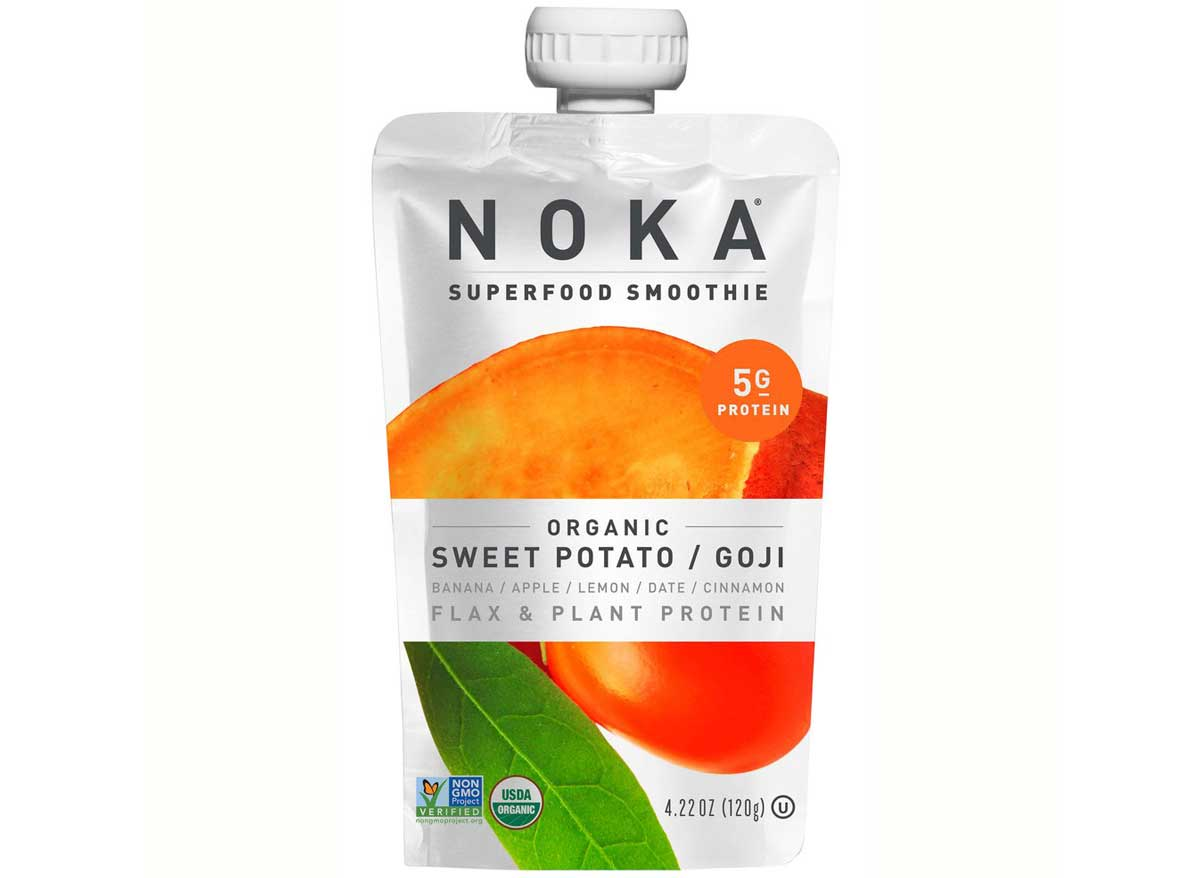 Noka superfood smoothie organic sweet potato goji