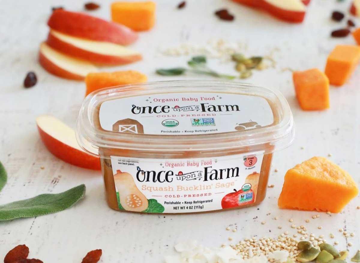 Once upon a farm organic baby food
