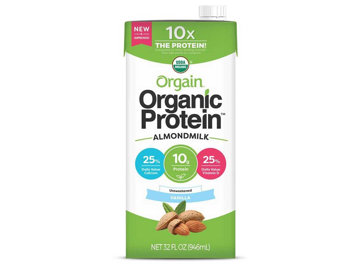 Orgain Unsweetened Almond Milk