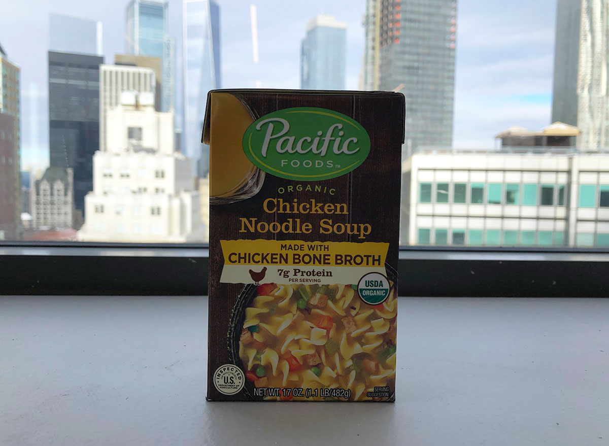 pacific foods chicken noodle soup