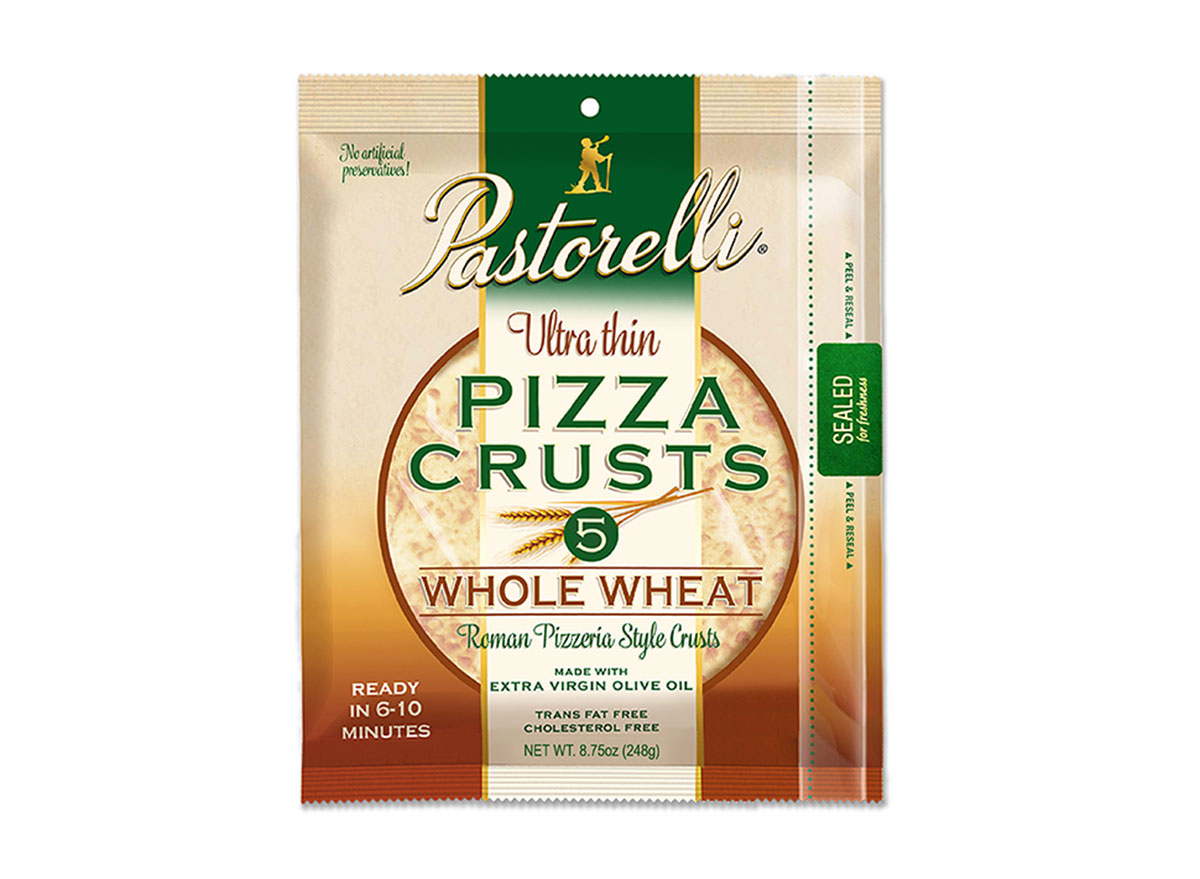 whole wheat pizza crust pastorelli