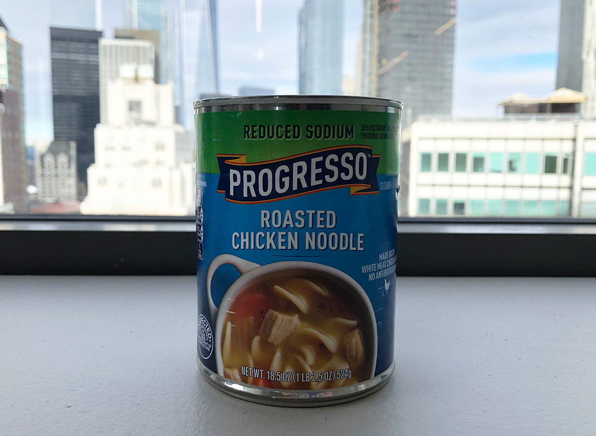 reduced sodium progresso roasted chicken noodle soup