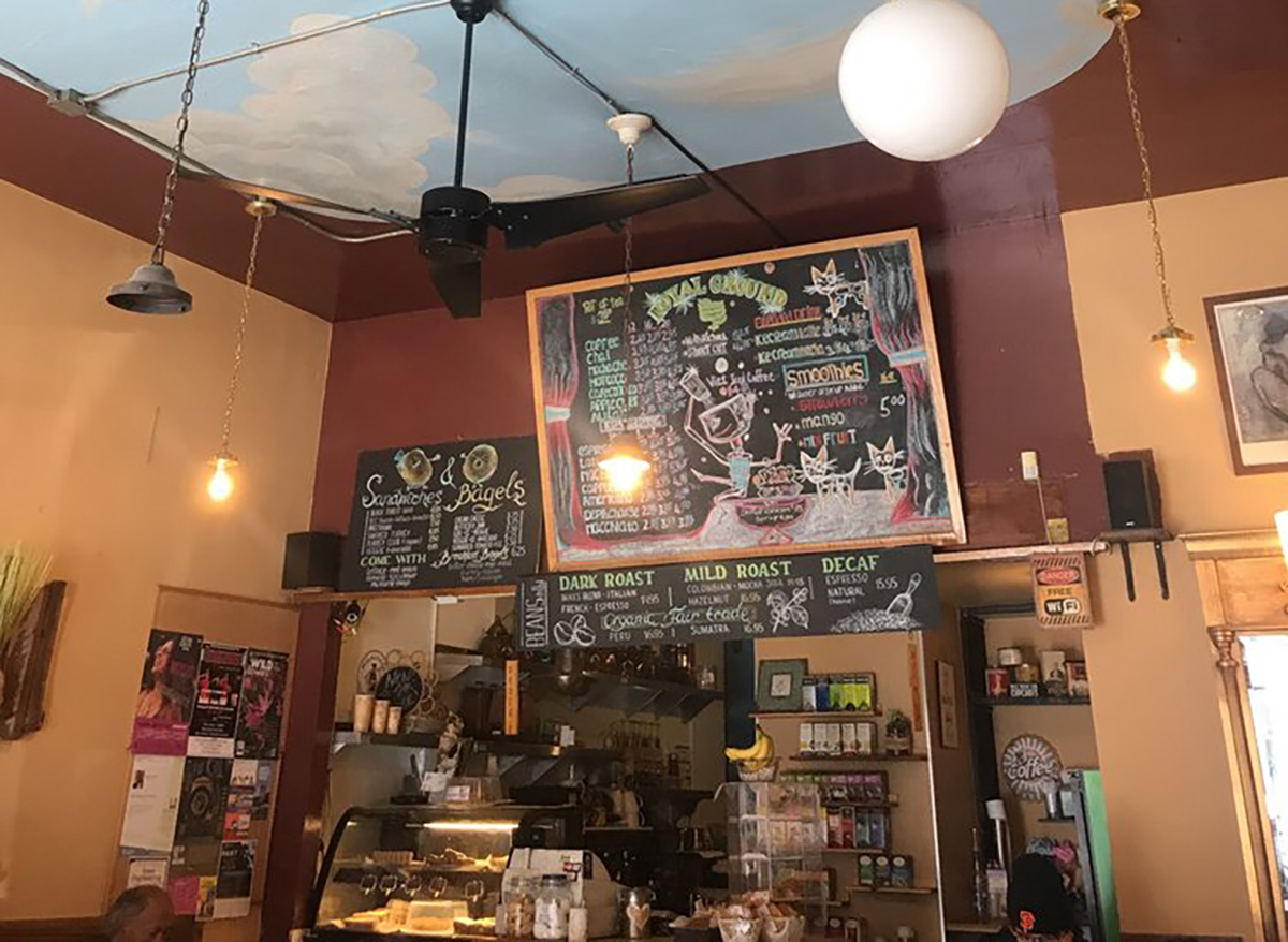 interior of royal ground coffee in san francisco