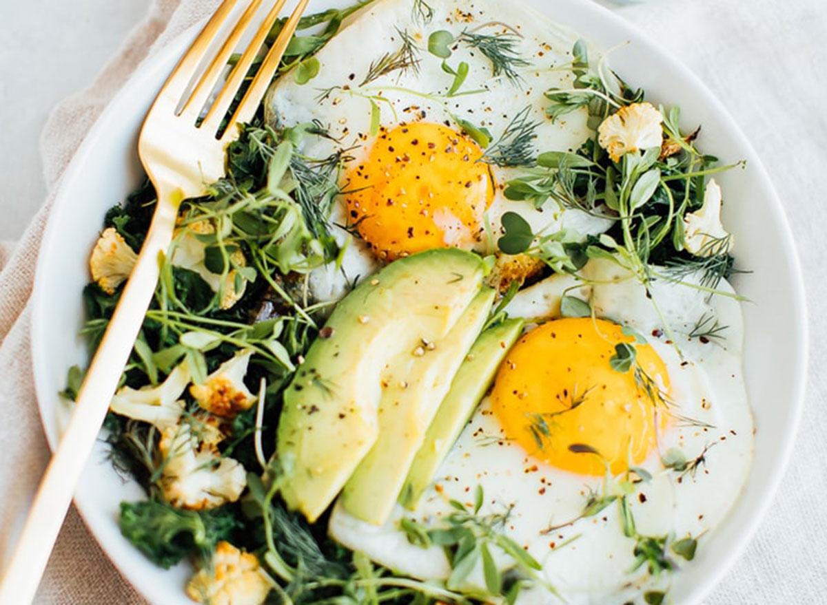 sauteed breakfast salad
