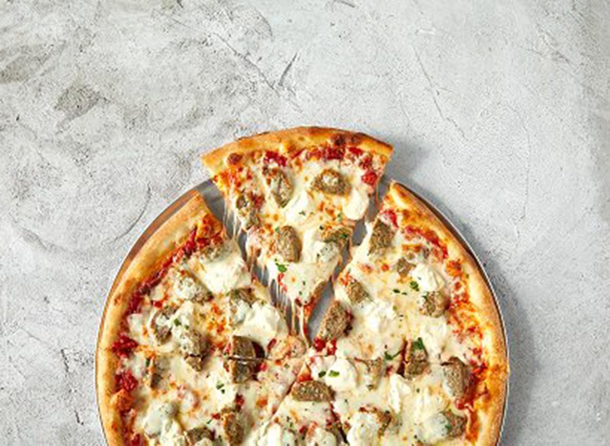 sbarro mamas meatball pizza