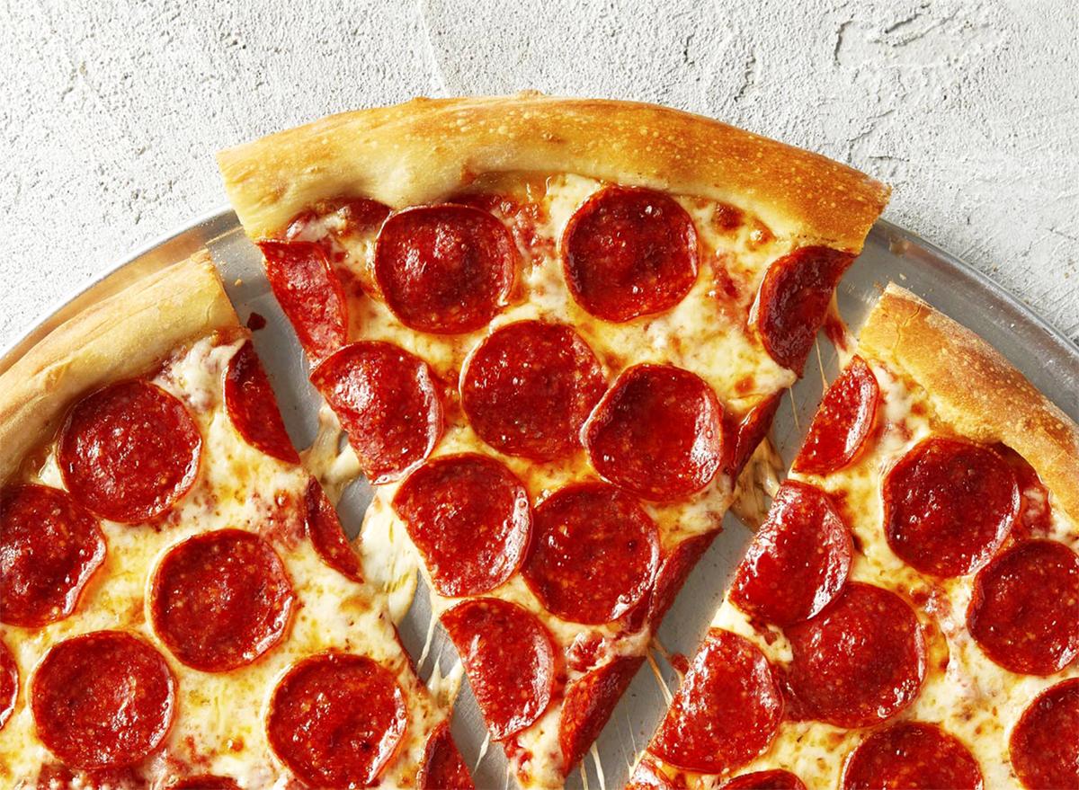 sbarro pepperoni pizza