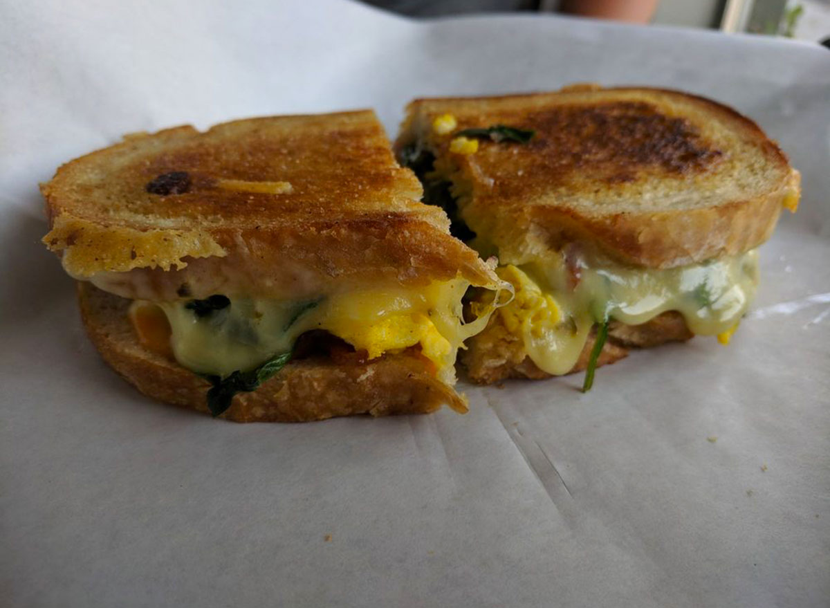 shift coffee california grilled cheese