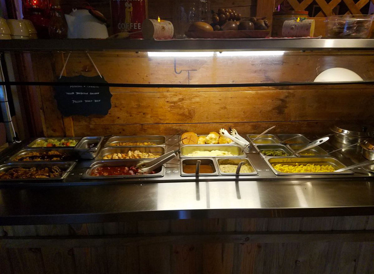 stampede saloon and eatery wyoming buffet