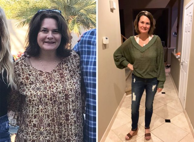 stephanie elliot before and after making her one weight loss resolution