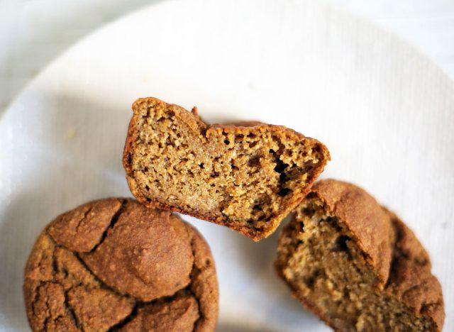 sweet potato banana muffins