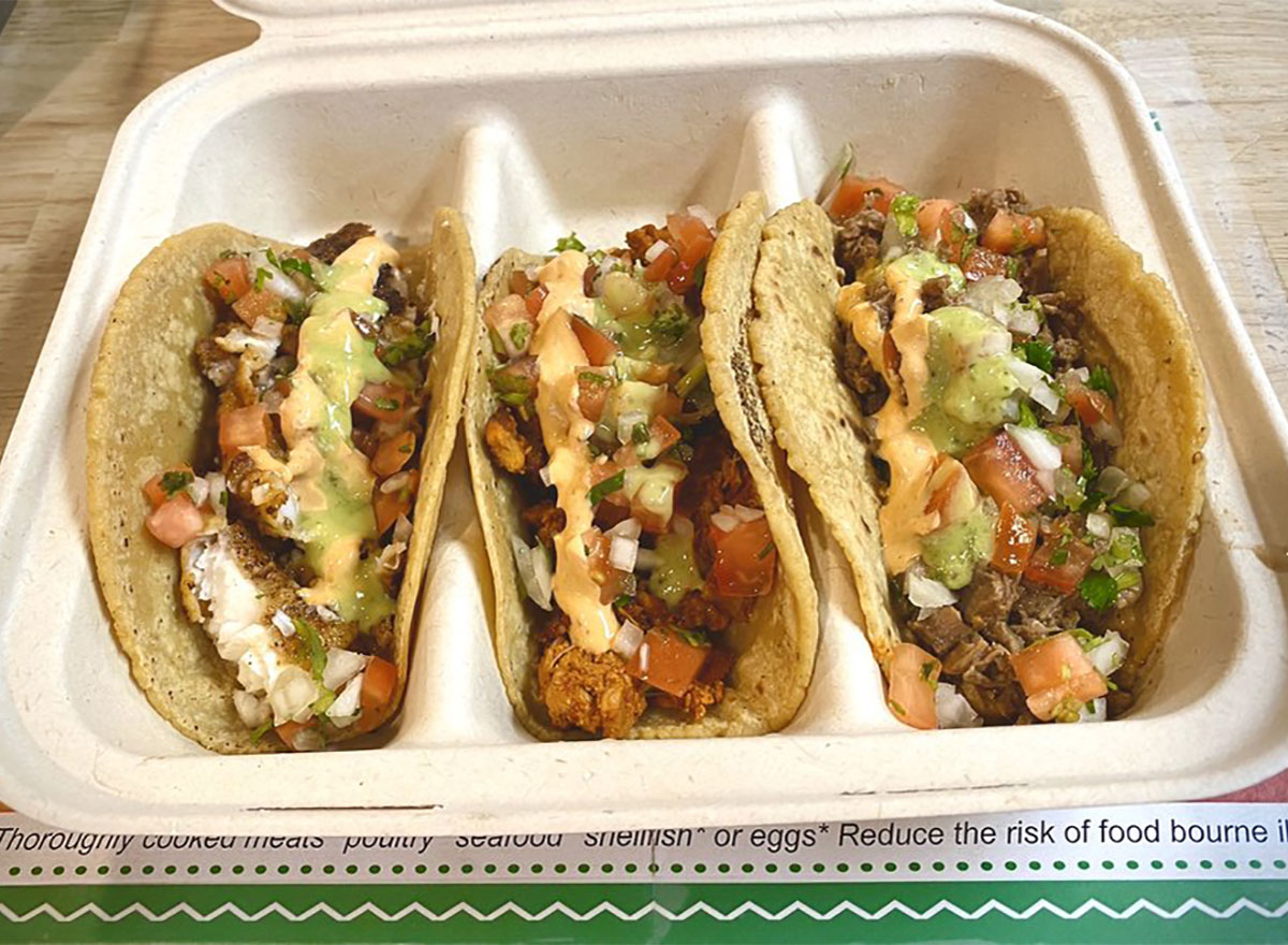 tacos from taco bachi connecticut