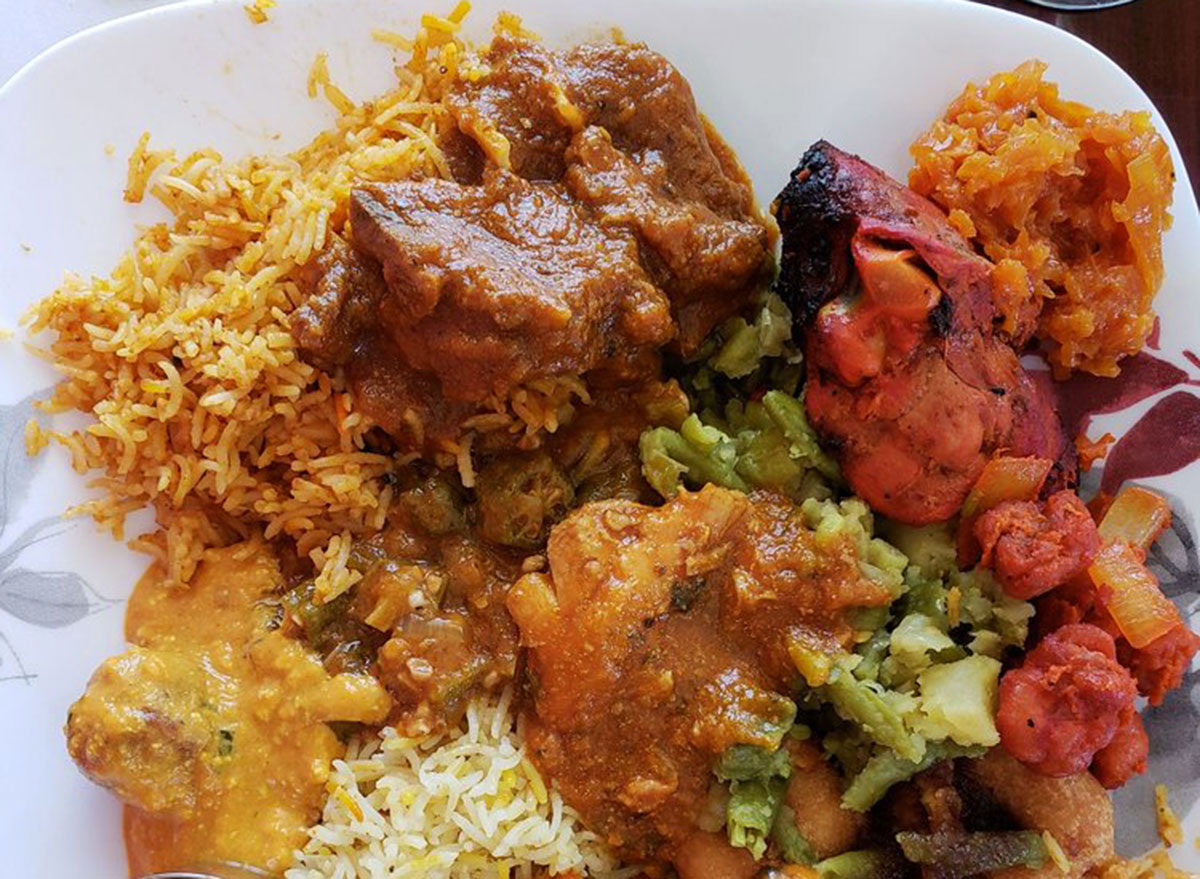 taj indian cuisine maine buffet