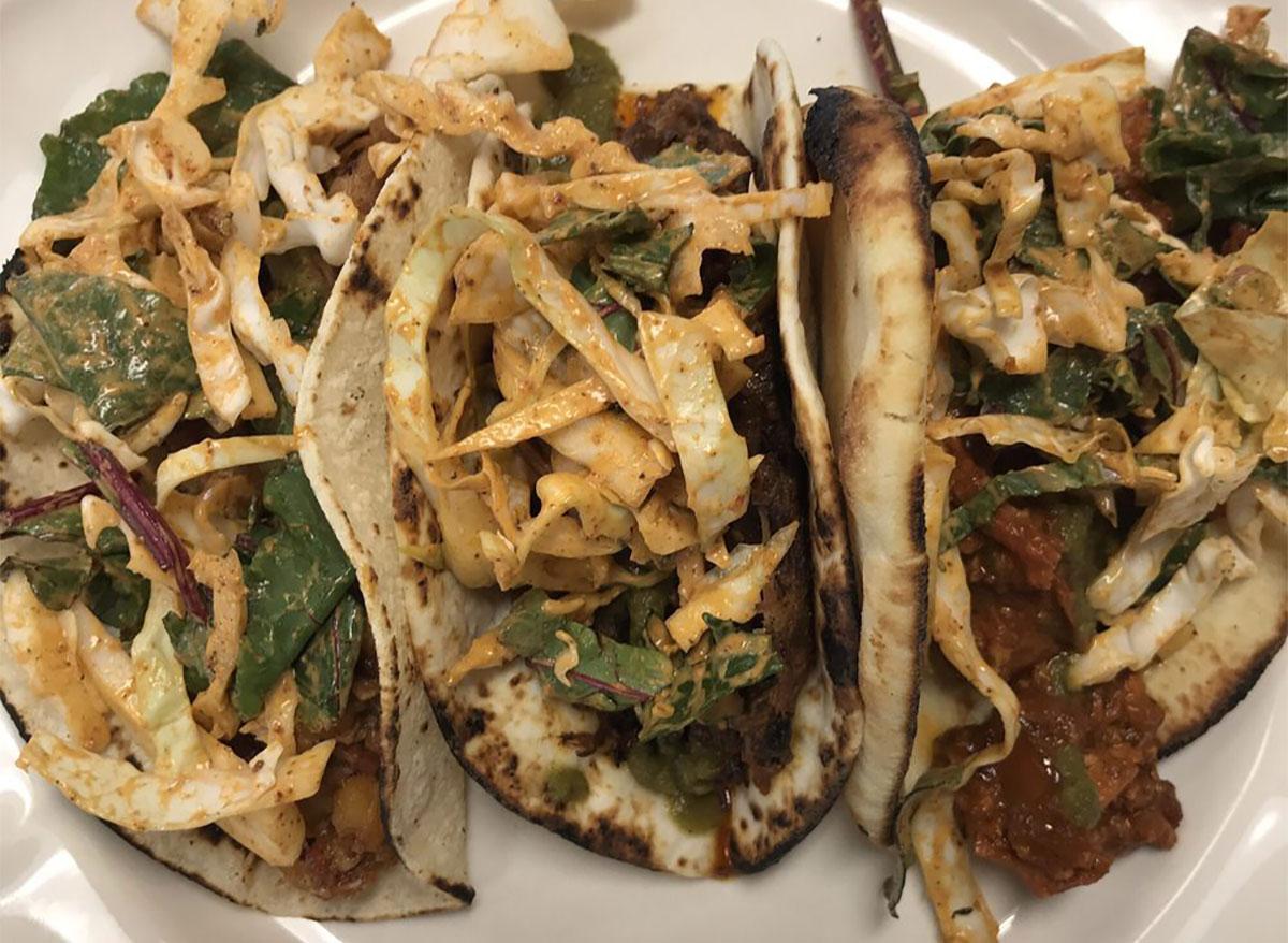 tandoori chicken tacos