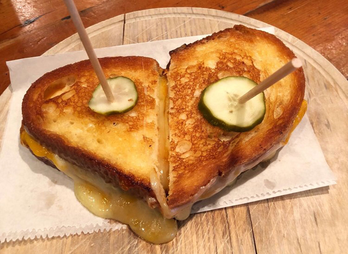 the eagle indiana grilled cheese