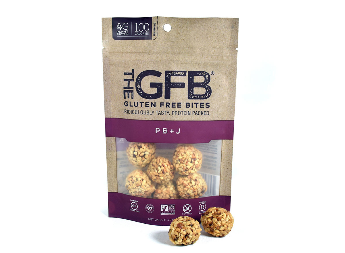 gluten free pbj bites
