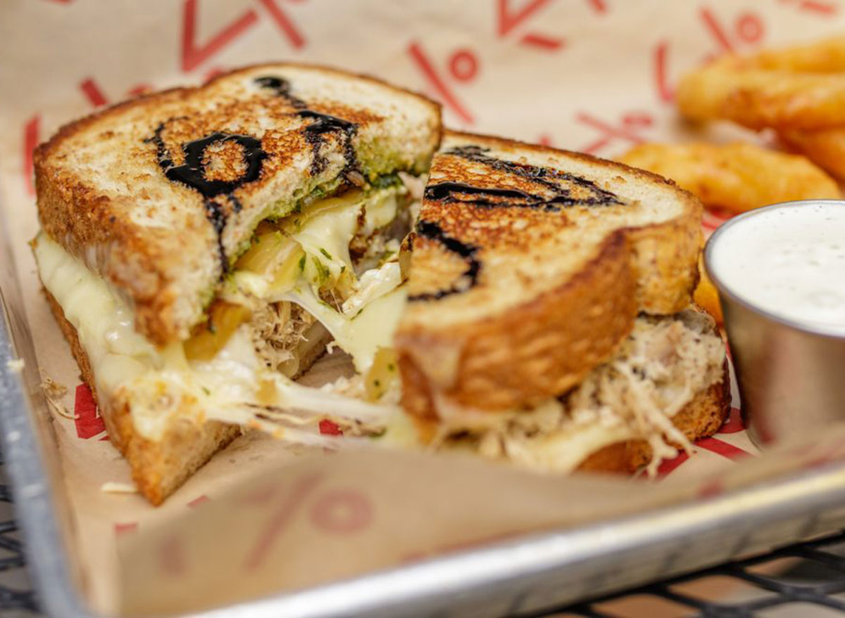 the mule oklahoma grilled cheese