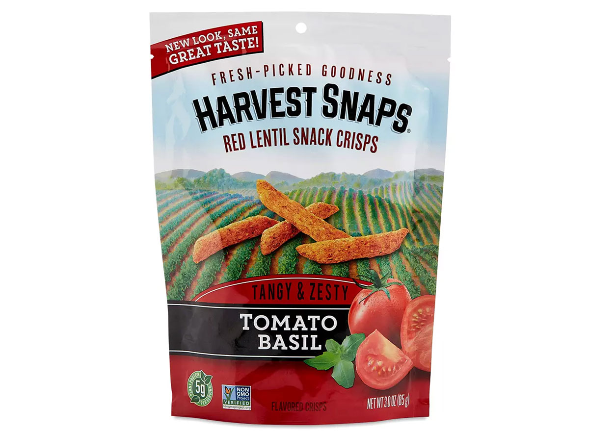 thrive market harvest snaps in the flavor tomato basil