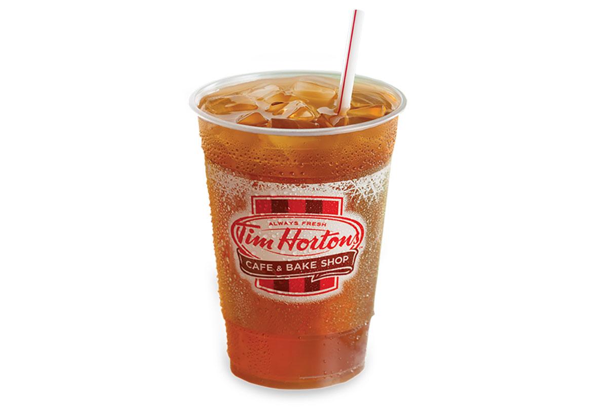 tim hortons brewed iced tea unsweetened