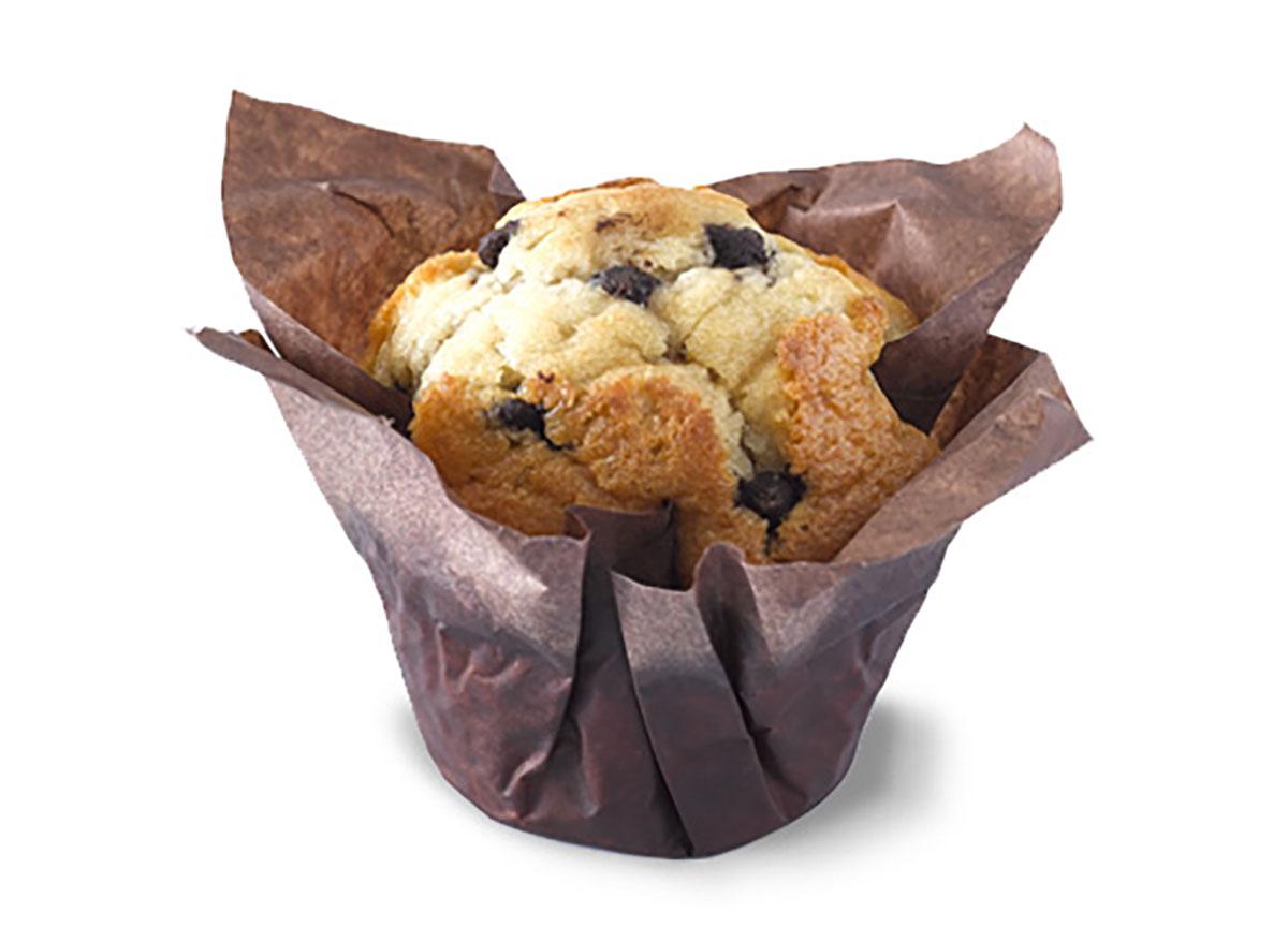 tim hortons chocolate chip muffin