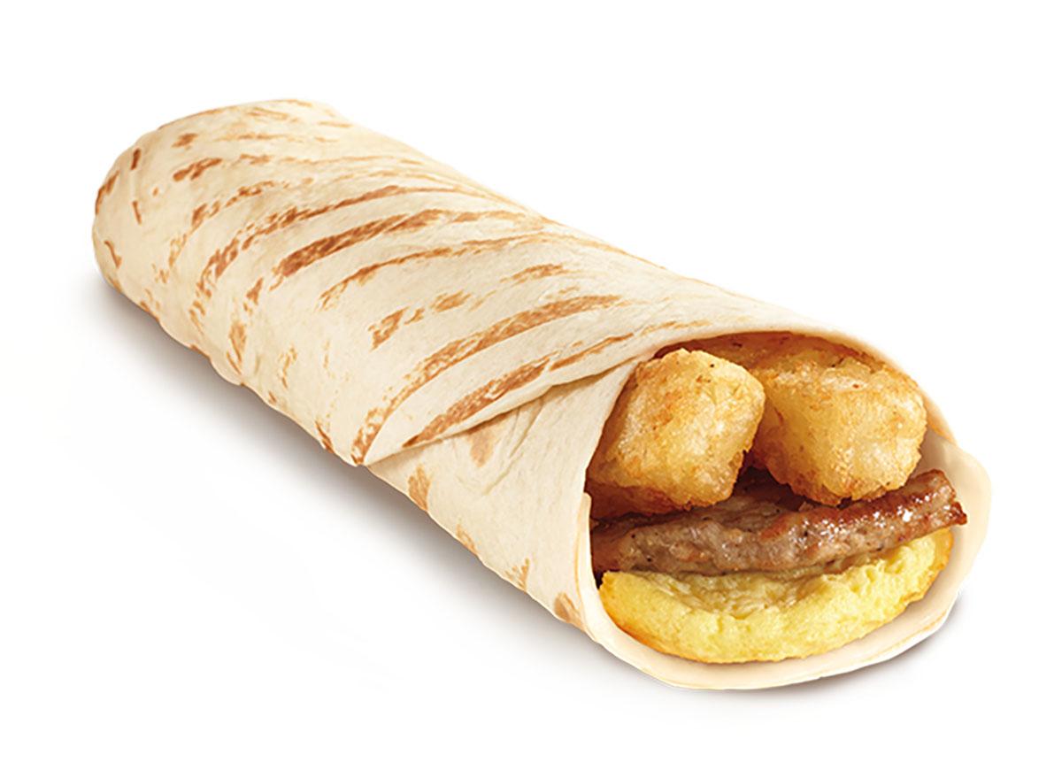 tim hortons farmers breakfast grilled wrap