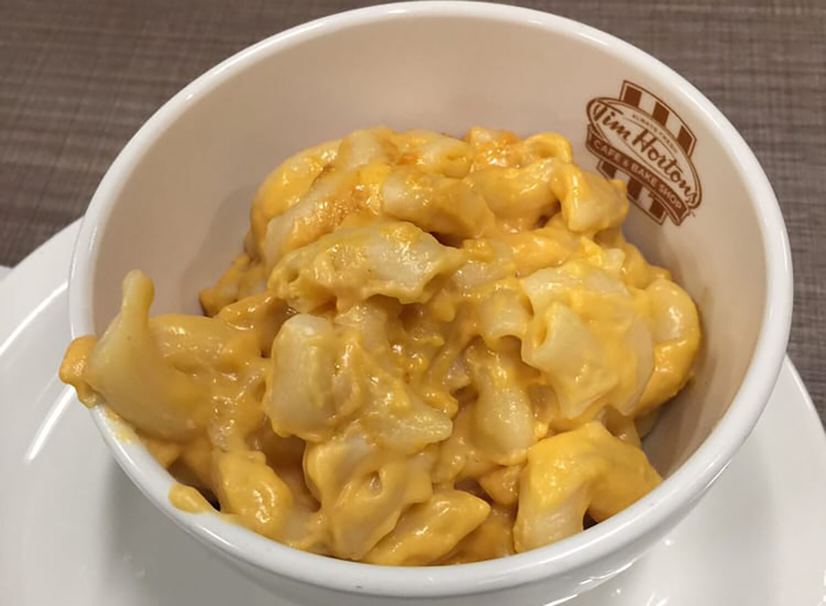 tim hortons mac and cheese