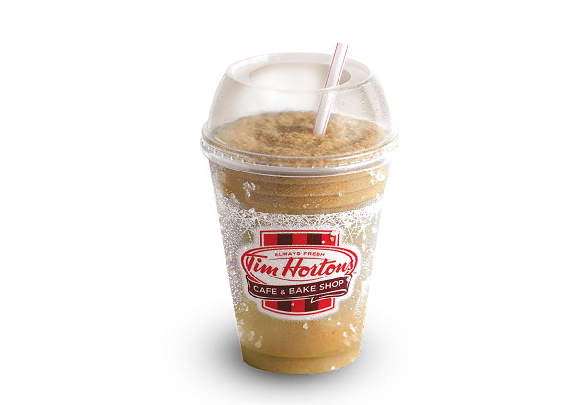 tim hortons mocha iced capp with cream