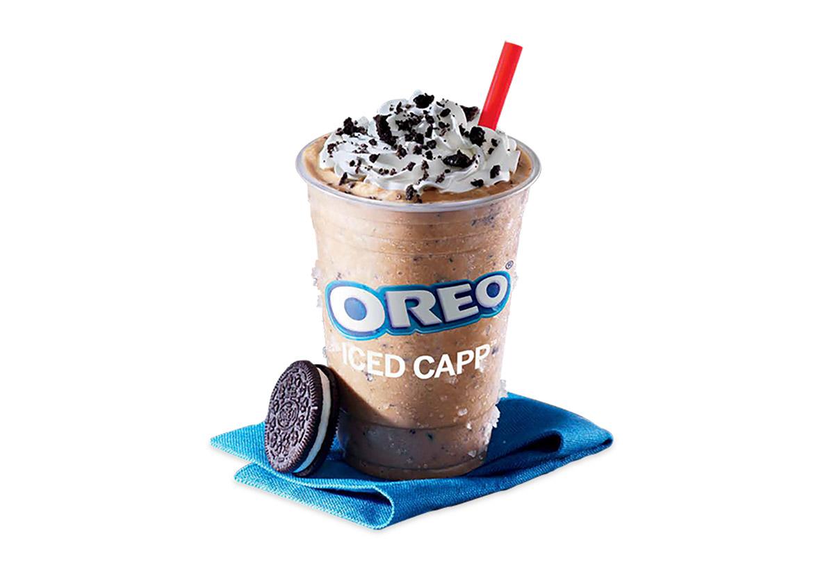 tim hortons oreo iced capp with cream