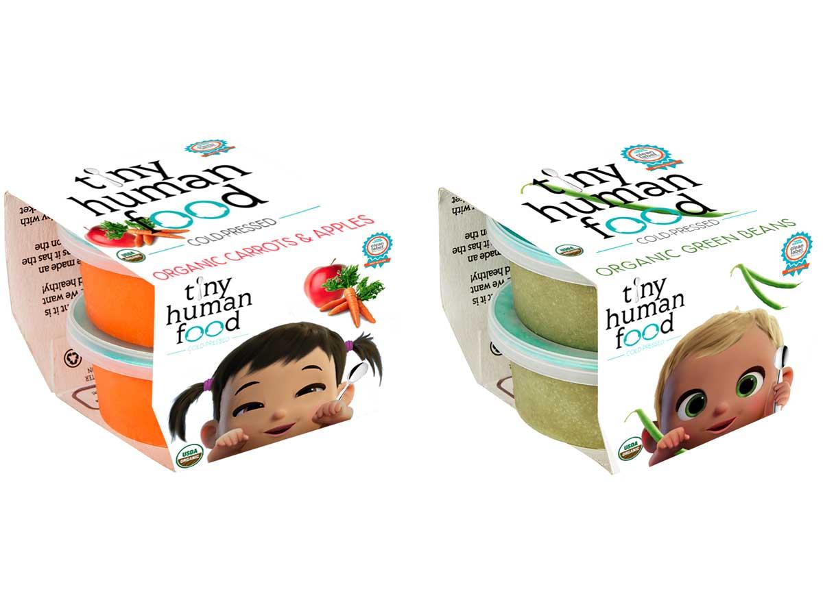 Tiny human food baby food