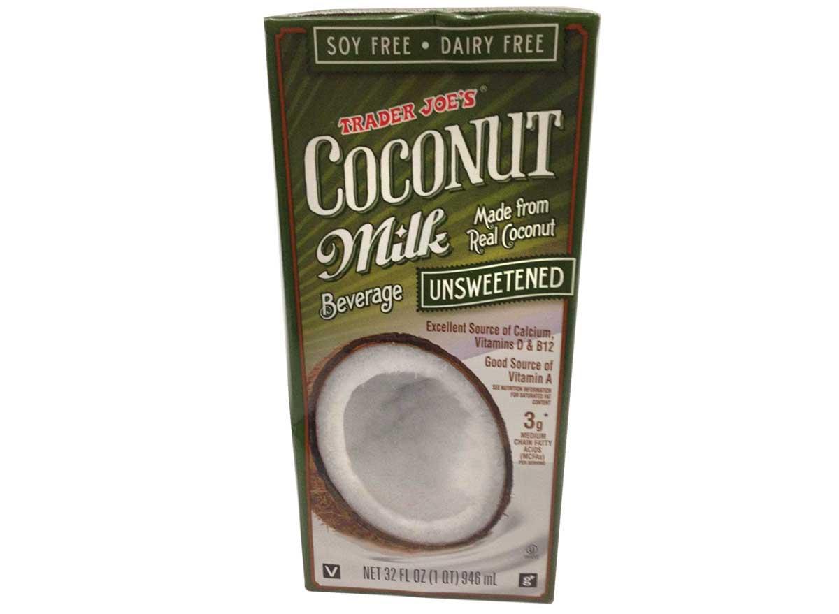 Trader joes coconut milk beverage