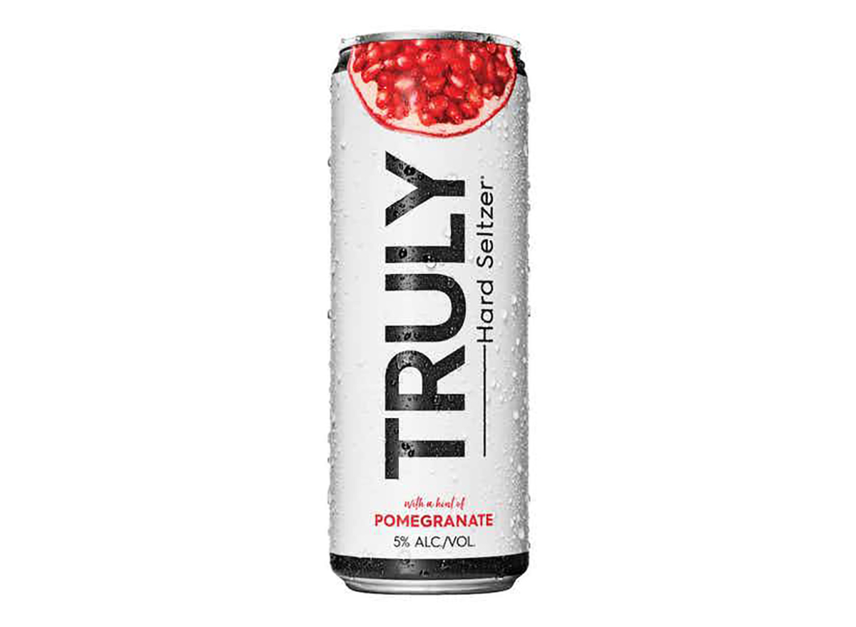 pomegranate flavored truly