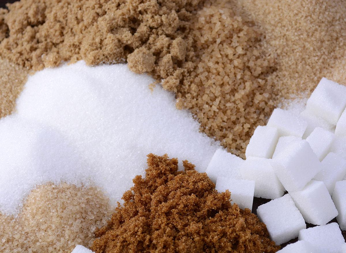 types of sugar blended together