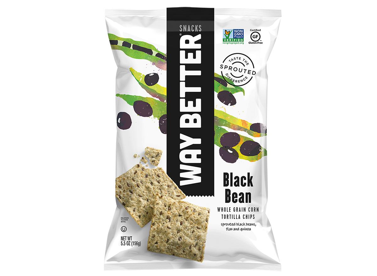 way better black bean tortilla chips