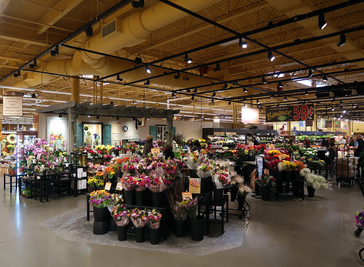 flower selection at wegmans