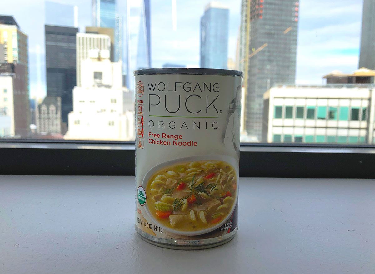 wolfgang puck chicken noodle soup