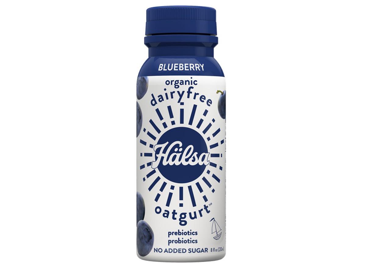 halsa dairyfree oatgurt blueberry