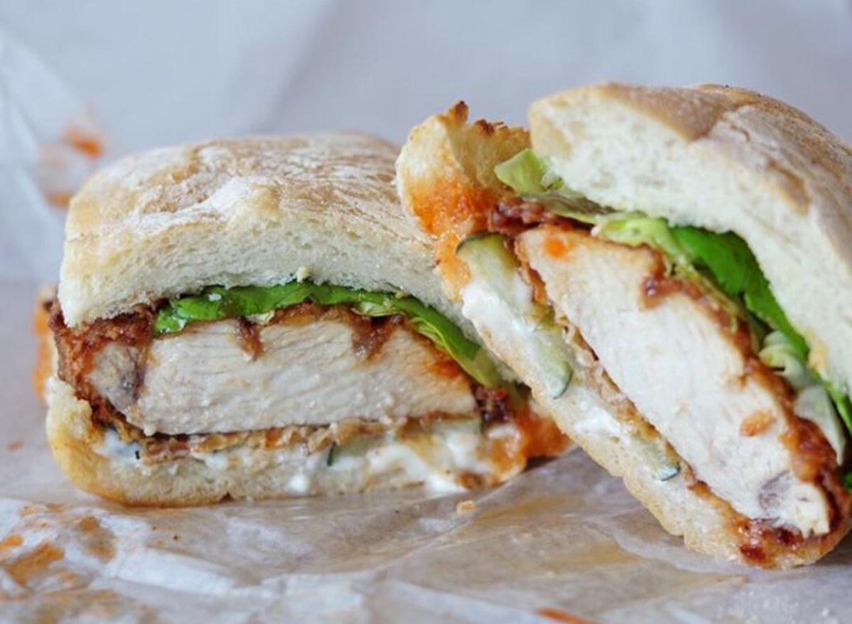 arizona chicken sandwich
