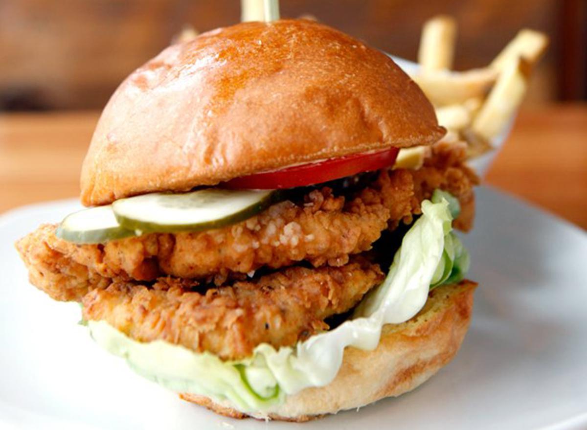 arkansas chicken sandwich