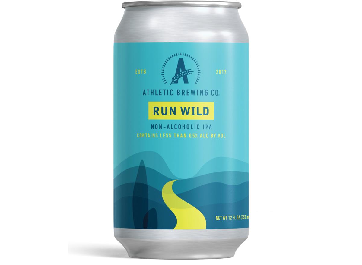 athletic brewing co run wild non alcoholic ipa