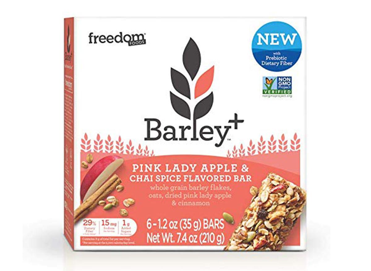 barley pink lady apple
