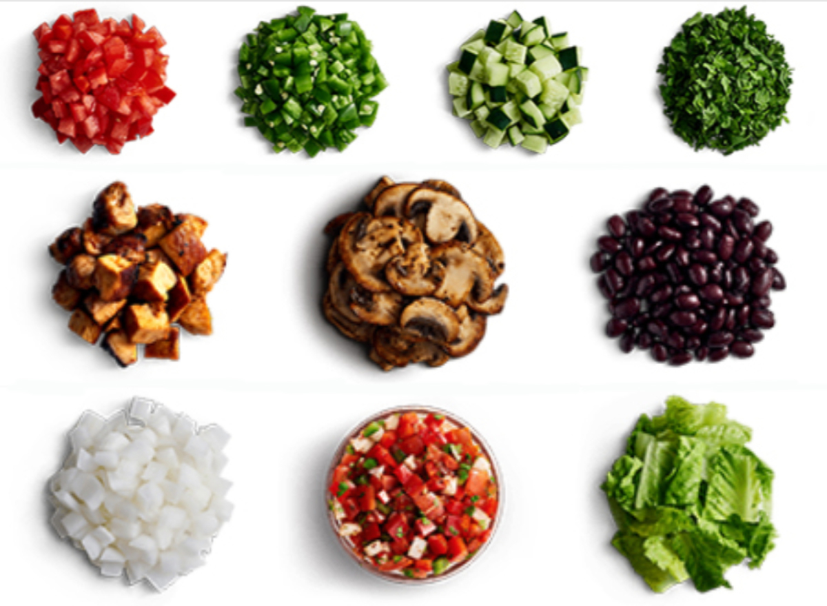 best salad deconstructed
