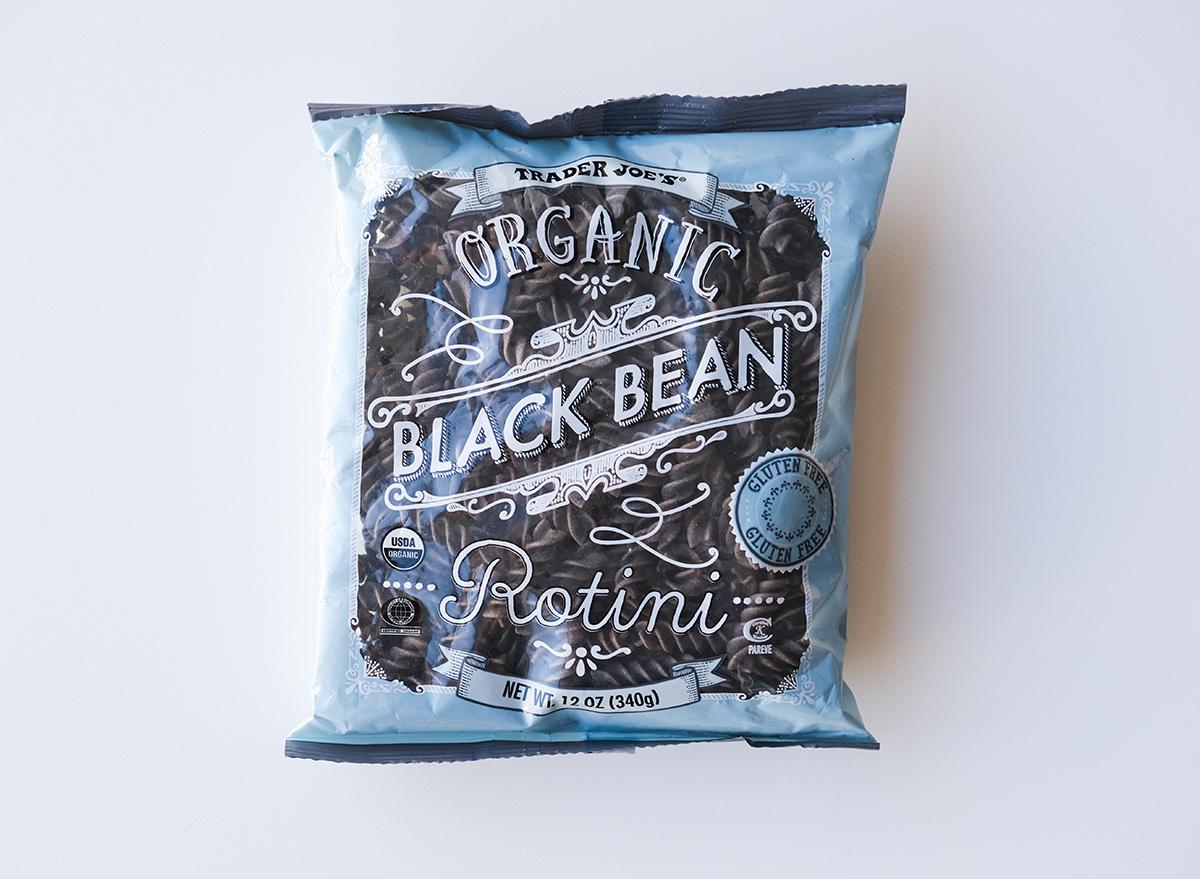 organic black bean rotini from trader joe's
