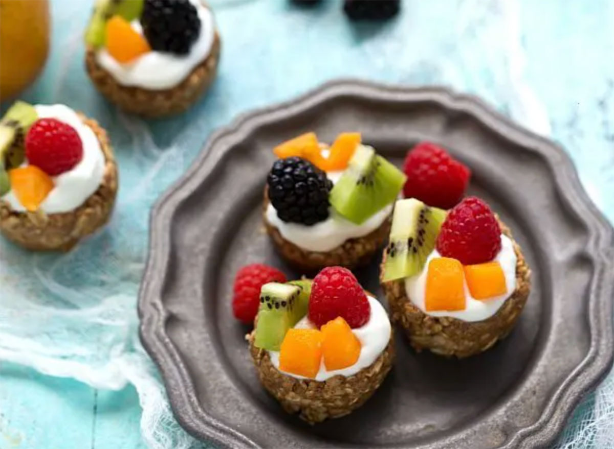 healthy breakfast for kids fruit tart