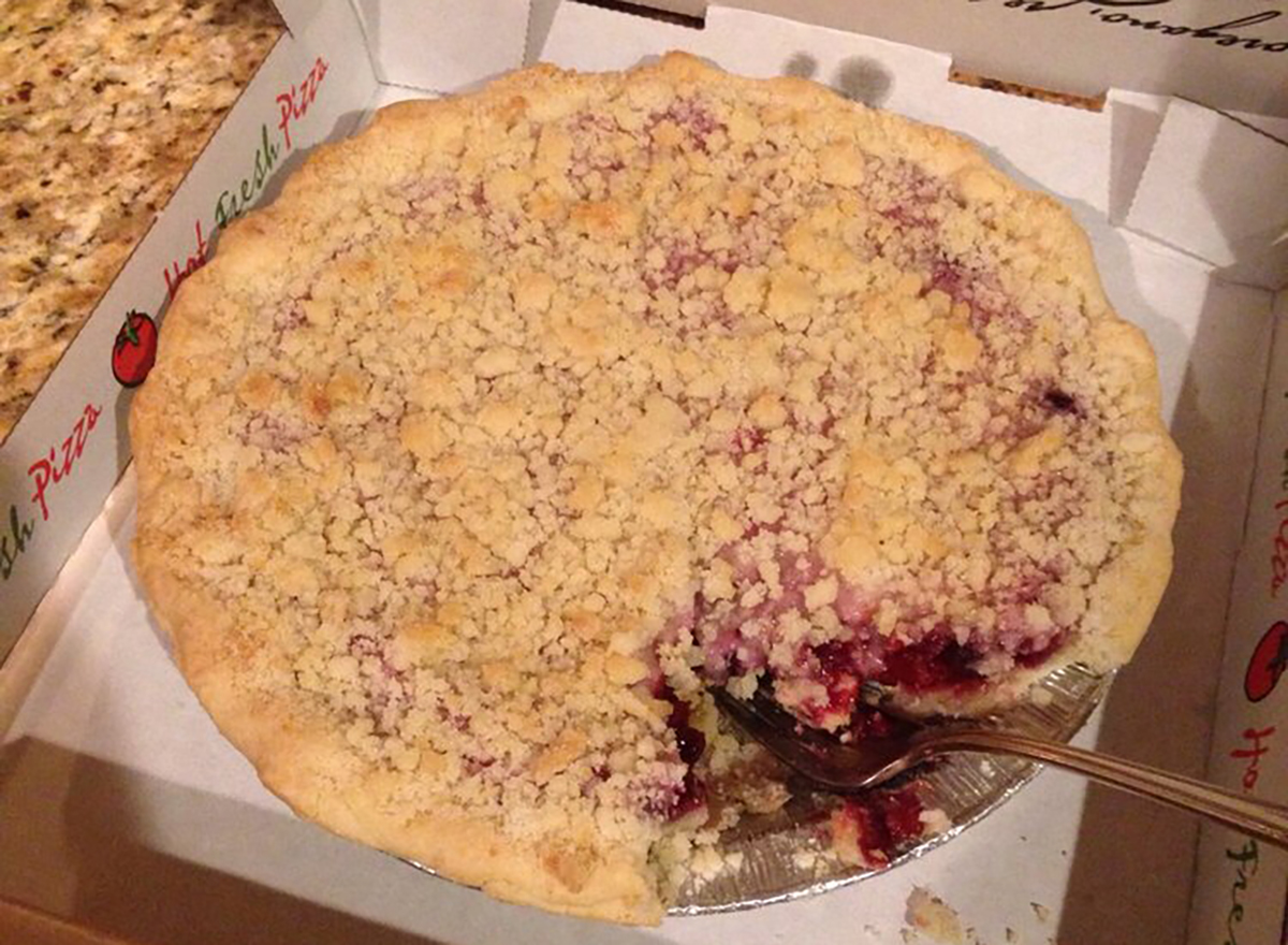 whole brumble berry pie in box