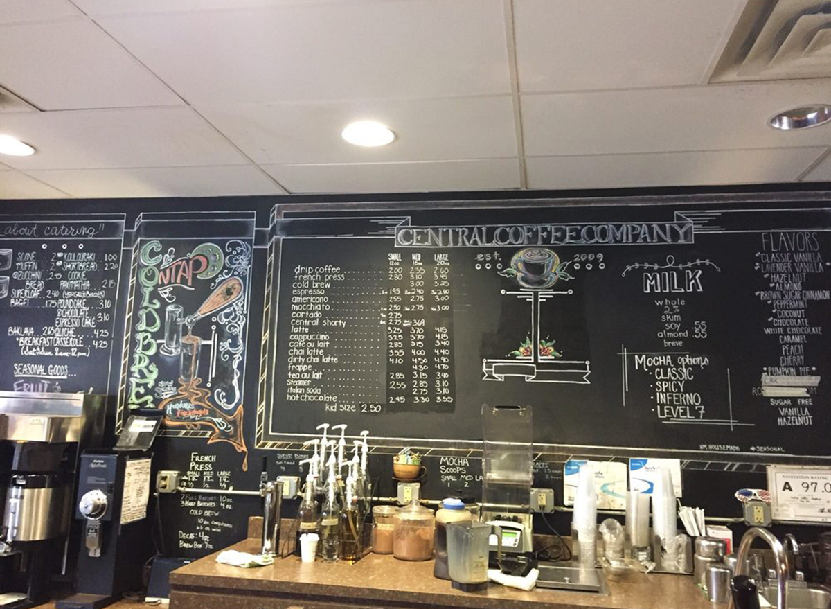 central coffee company charlotte