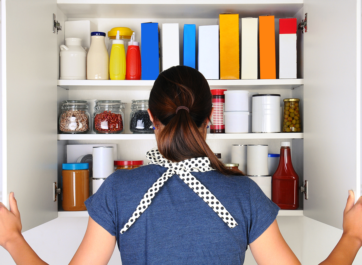 check pantry before grocery shopping