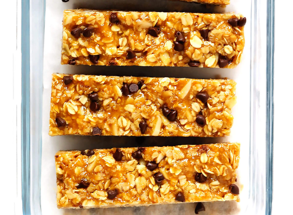 healthy breakfast for kids chewy peanut butter granola bars