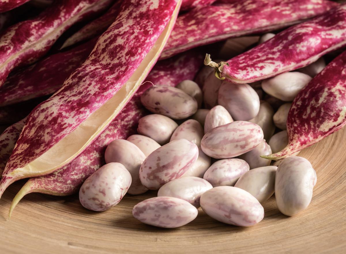 Cranberry roman beans